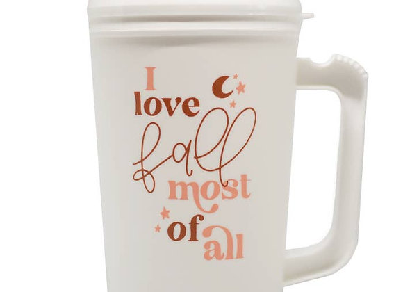 I love Fall Most Of All Thermos