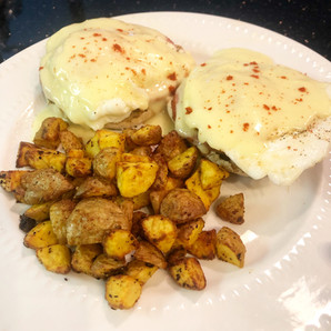 EASY WW EGGS BENEDICT