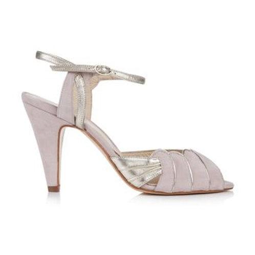 Rachel Simpson Shoes - Aurelia Powder Pink Suede