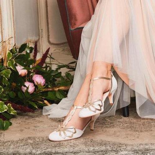Rachel Simpson Shoes - Rosita Ivory