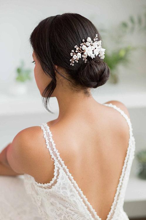 Alyssa Floral Bridal Hair Vine