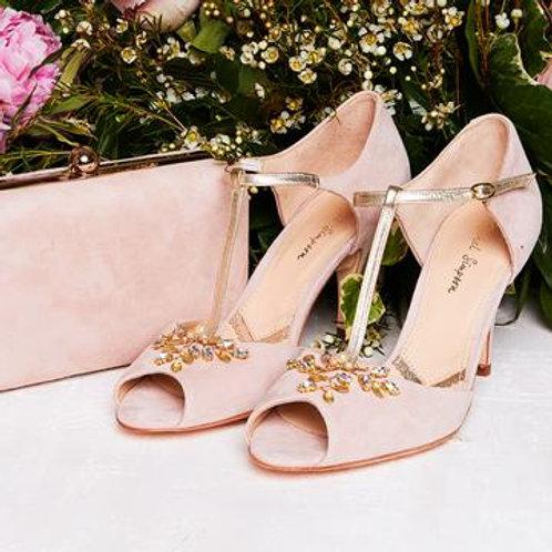 Rachel Simpson Shoes - Amalia Pink Suede