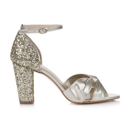 Rachel Simpson Shoes - Candyfloss Gold