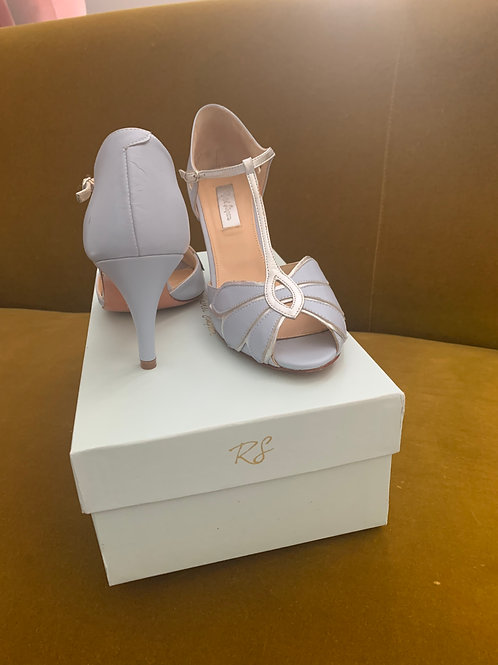 Rachel Simpson Shoes Blue Mimosa