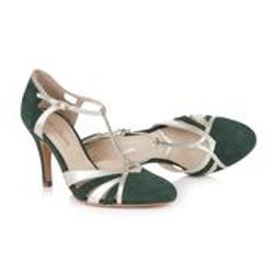 Rachel Simpson Shoes - Paloma Forest Green