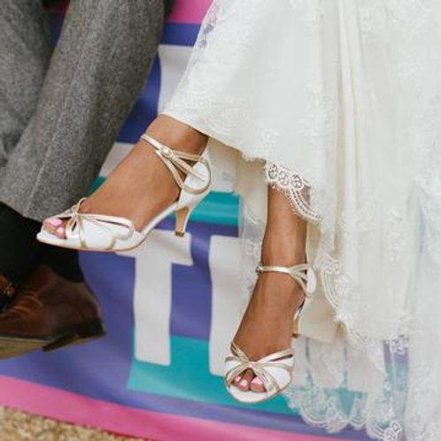 Rachel Simpson Shoes - Cecelia Ivory White