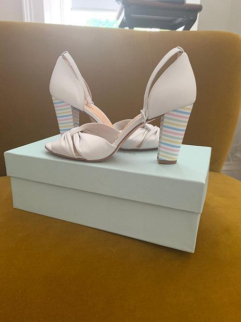 Rachel Simpson Shoes - Candyfloss Ivory