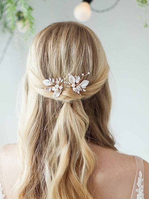 Alyssa Floral Bridal Hair Pin