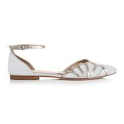 Rachel Simpson Shoes - Amber Ivory Suede