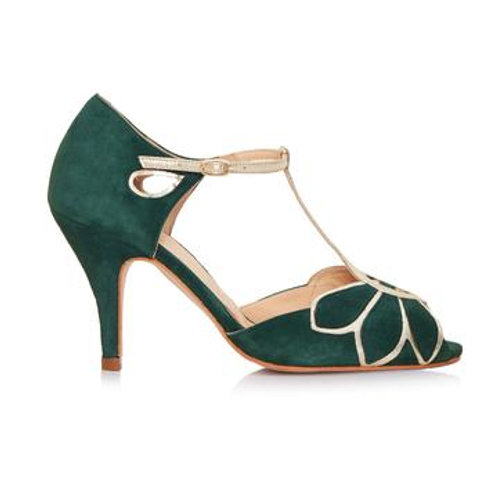 Rachel Simpson Shoes - Mimosa Forest Green