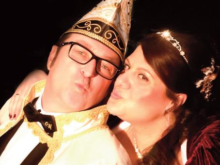 Das neue Prinzenpaar der Coburger Narrhalla