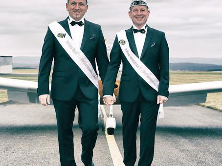 Unser neues Prinzenpaar: Ralf I. und Mathias I.