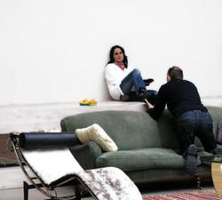 Anton Corbijn working on Sophie Zelmani