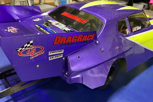 NEW Extreme wing and splitter for Shark Scarecrow GTO body