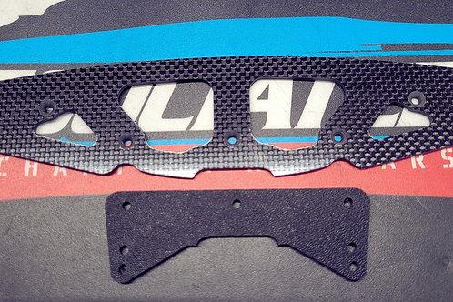 Carbonfiber Undercover Drag Front Bumper set