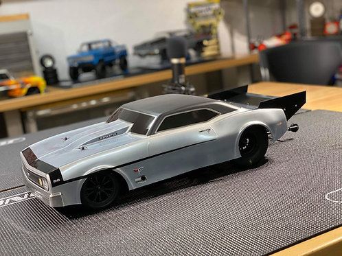 Pro Mod Wing and Splitter for JCONCEPTS 67 Camaro