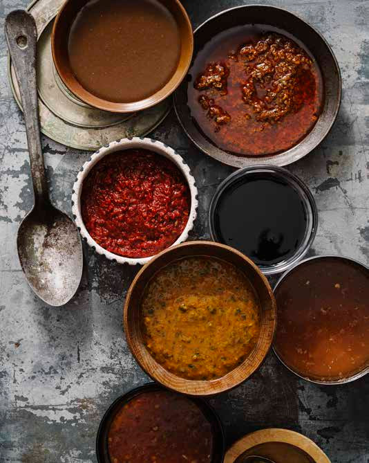 Chef Bill Kim shares recipes for magic paste and soy balsamic sauce