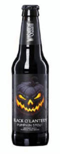 BLACK O'LANTERN pumpkin craft beer