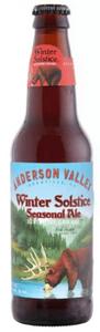 A holiday IPA craft beer