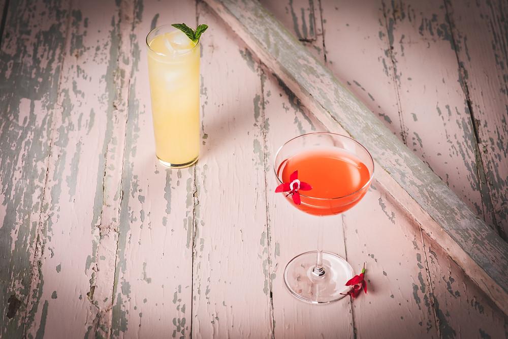 Fancy spirit cider cocktails
