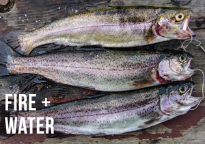 Here's an excellent fire and water trout fish dinner recipe