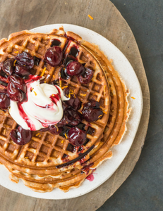 Here's a great waffle recipe to start your morning with
