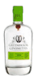 A bottle of Greenhook Ginsmiths gin