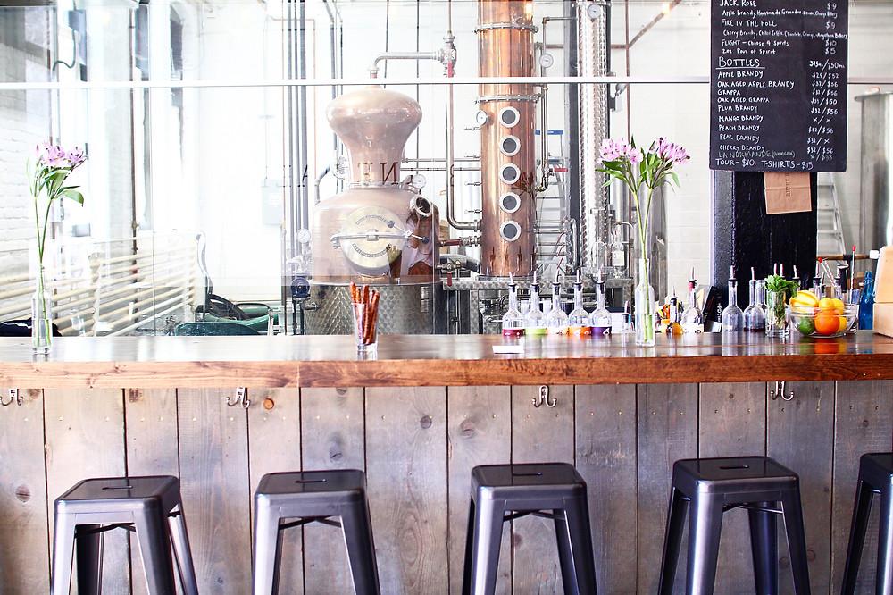 Chicago distillery for spirits