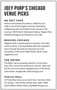 Chicago rapper Joey Purp's favorite places to chill in the city of chicago