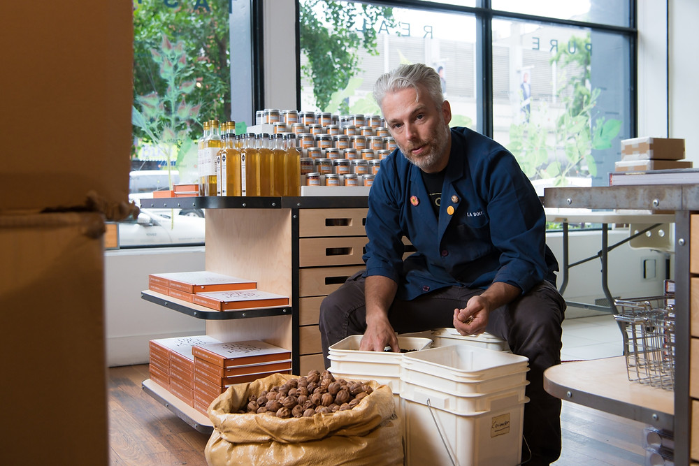 Lior Lev Sercarz is the blending master behind La Boîte, a spice shop in Hell's Kitchen