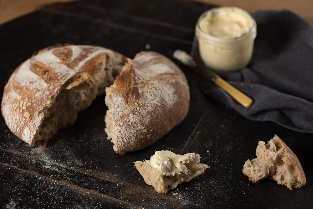 Delicious sourdough bread