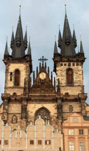 Prague church