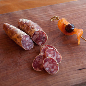 A meat snack to enjoy in the city with goose island craft beer