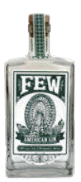 A bottle of F.E.W. Spirits gin