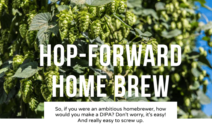 Sour beer hops and double IPAs