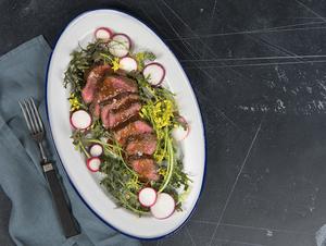 A mighty denver steak dinner for meat lovers
