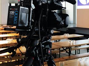 Kameramann mit Live-Kamera in Nürnberg