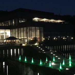 Event Beleuchtung für Abendprogramm einer Tagung in Seeheim-Jugenheim