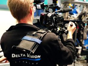 Kamerateam für ntv in Mannheim