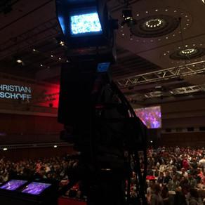 Live-Kameramann für Christian Bischoff in Mainz