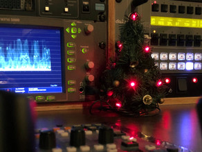 Frohe Weihnachten aus dem Ü-Wagen für Christian Bischoff in Siegen