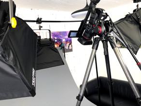 Studioproduktionen von Lehrvideos