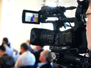 Kameramann für Vortragsmitschnitt in Heidelberg