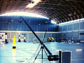 Kamerakran mit Operator in Friedrichshafen