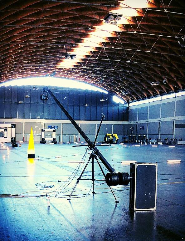 Delta Vision Studios Kamerakran 9m