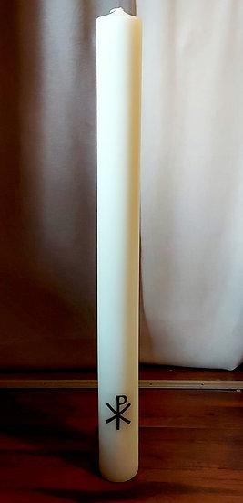 Kristus-kynttilä Wasa Ivory 1m x 9 cm