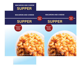 Mac and Cheese Label