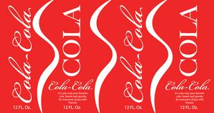 Cola Label