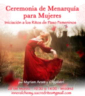 CARTEL_Ceremonia_de_Menarquía_28_Marzo_2