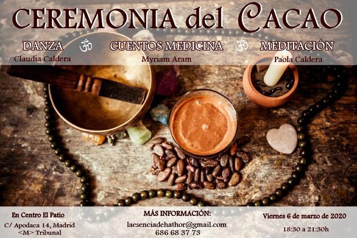 CEREMONIA DEL CACAO - 6 de marzo